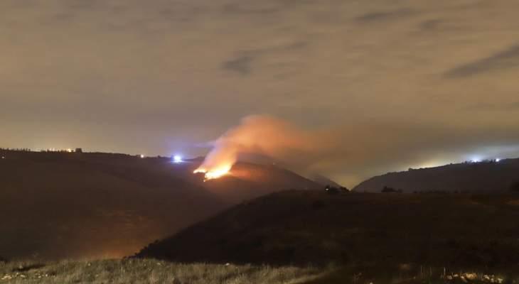 بلدية مجدل سلم: اشتعال النيران في مطمر النفايات في خراج البلدة جرى بفعل فاعل