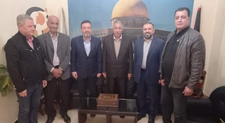 """وفد من """"القومي"""" زار """"الجبهة الشعبية"""": للتمسك بالوحدة الوطنية الفلسطينية"""