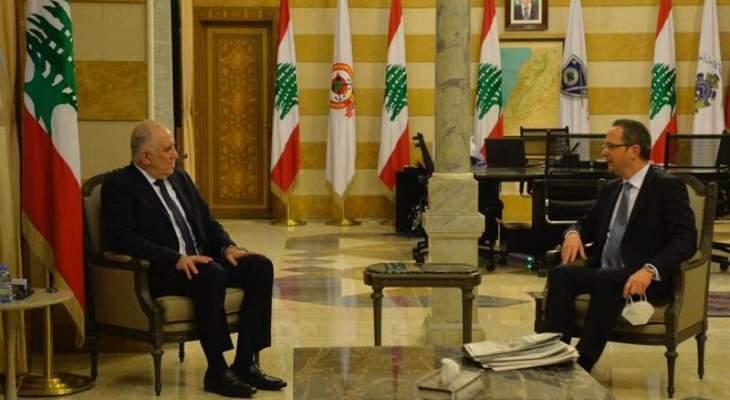 وزير الداخلية التقى مدير منظمة الهجرة الجديد وعرض مع سفير تركيا للعلاقات الثنائية