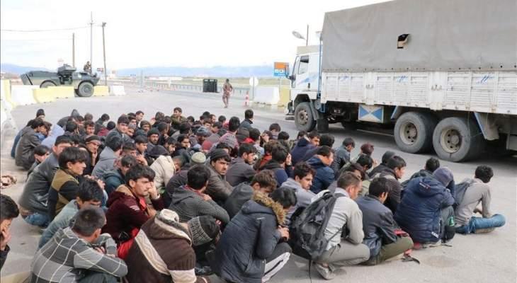 الأمن التركي قبض على 24 مهاجرا غير نظامي في ولاية وان