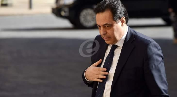 أمير الكويت تمنى لدياب التوفيق والسداد لتحقيق تطلعات الشعب اللبناني