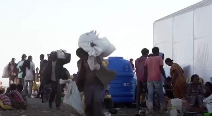 حكومة تيغراي: القوات الإريترية تعيق مرور المساعدات الغذائية وتنهبها