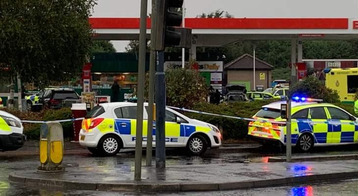 وسائل إعلام بريطانية: مسلح يحتجز رهائن في محطة للمحروقات في بريستول