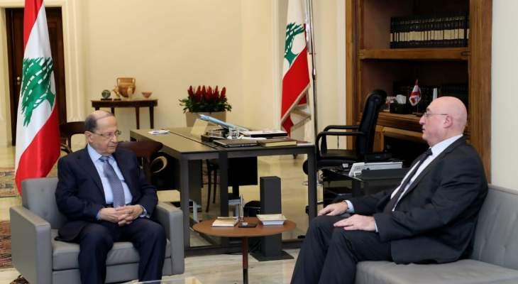 جوزيف ابوفاضل التقى الرئيس عون: الحكومة لن يتاخر تشكيلها والاولوية للاصلاحات