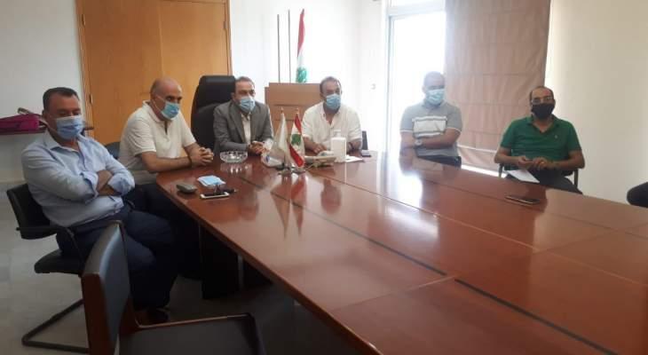 مرتضى لطلاب كلية الزراعة: بكم سيبنى لبنان رغم الإنسداد الحاصل في أفق الطموحات