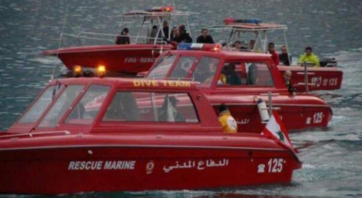 الدفاع المدني أعلن وضع خطة طوارئ لنقل من هم بحال صحية حرجة بحرًا