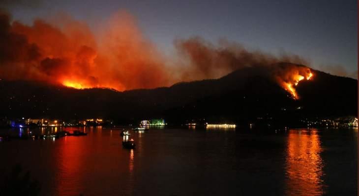وزير الزراعة التركي: إخماد 152 حريقا من أصل 163 في 38 ولاية