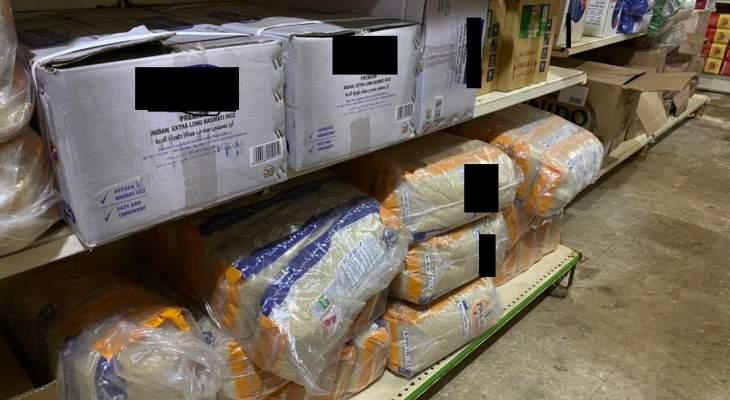 إقفال استهلاكية في حارة حريك موقتا لتخزينها بضائع مدعومة وبيعها بسعر مرتفع جدا
