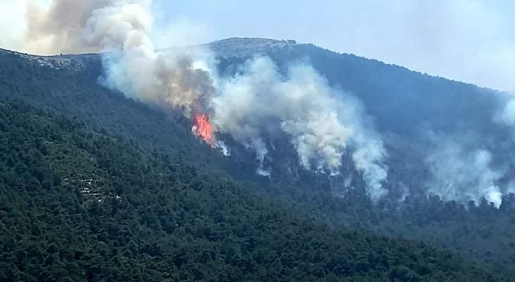 مختار عندقت دعا لطلب النجدة من الدول الصديقة لتأمين طائرات إطفاء كبيرة: رقعة النار كبيرة جدا