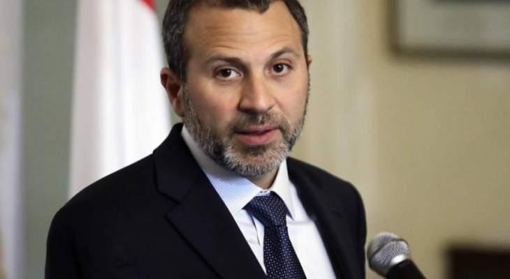مصادر باسيل لـ LBC: العلاقة مع سعد الحريري لا تتوقف على نادر الحريري