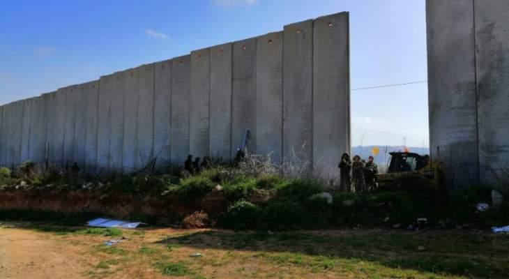 النشرة: قوة اسرائيلية تتفقد الشريط المحاذي مابين الوزاني ووادي العسل