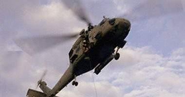 سقوط مروحية عراقية قرب بلدة طوز خورماتو ومقتل طاقمها
