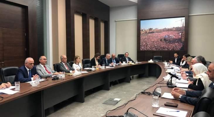 """""""المستقبل"""": نرفض وضع جهود الحريري بخانة الثنائيات السياسية أو المحاصصات"""