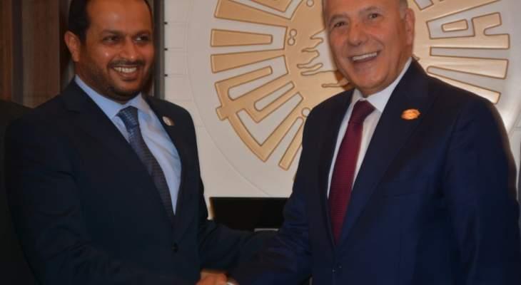 الشامسي زار غرفة طرابلس: بصدد تعزيز الروابط بين الامارات ولبنان