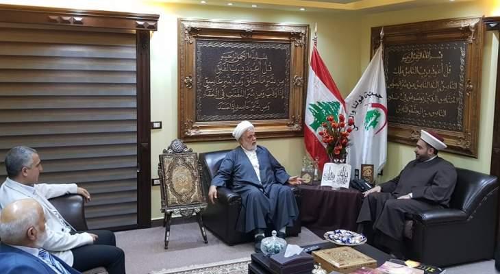 الشيخ عمار: المسلمون موقفهم واحد وجبهة واحدة لمواجهة المشروع الأميركي