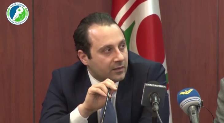 سامي علوية: لتنفيذ القانون 63 فيما يخص نهر الليطاني وإلا المشكلة إلى تفاقم