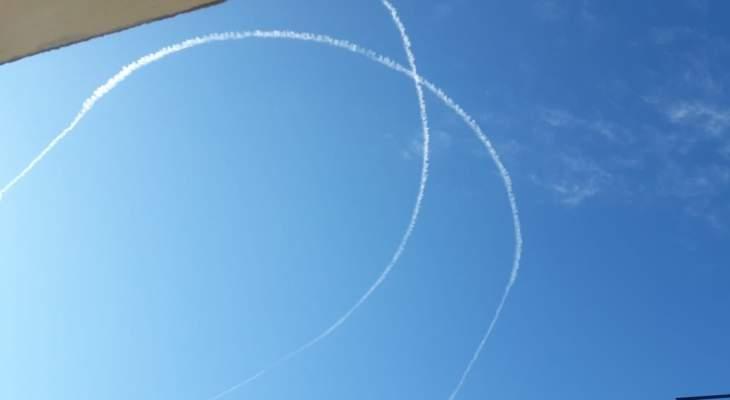 النشرة: الطيران الحربي الإسرائيلي نفذ طلعات استكشافية فوق حاصبيا والعرقوب