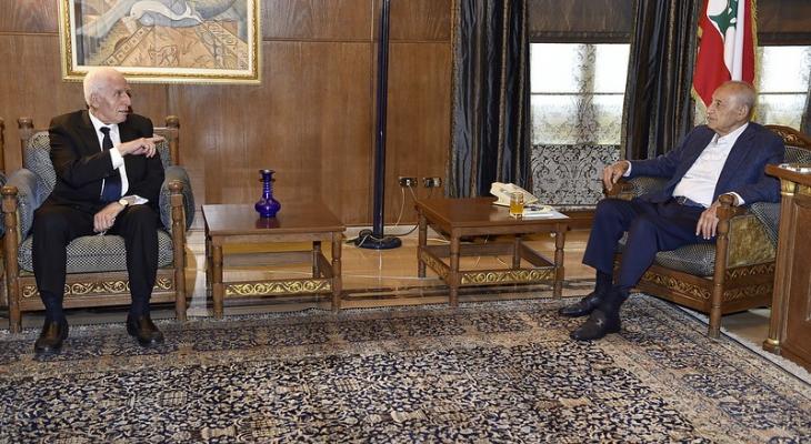الأحمد بعد لقاء بري: نحن تحت تصرفكم بكل ما نملك ماديا وسياسيا