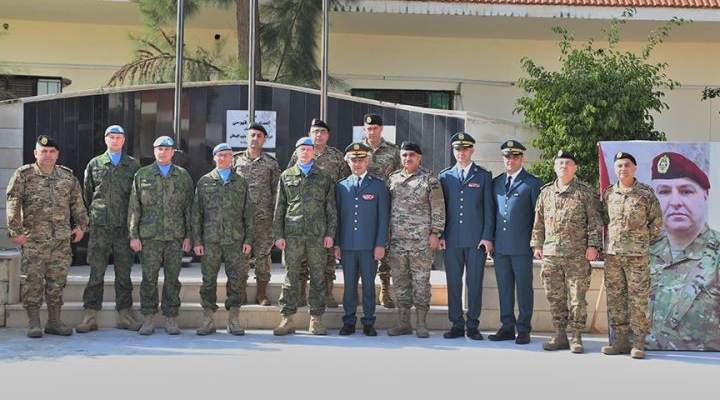 إقامة حفل تسلّم هبة مقدمة من السلطات الفنلندية لصالح الجيش اللبناني