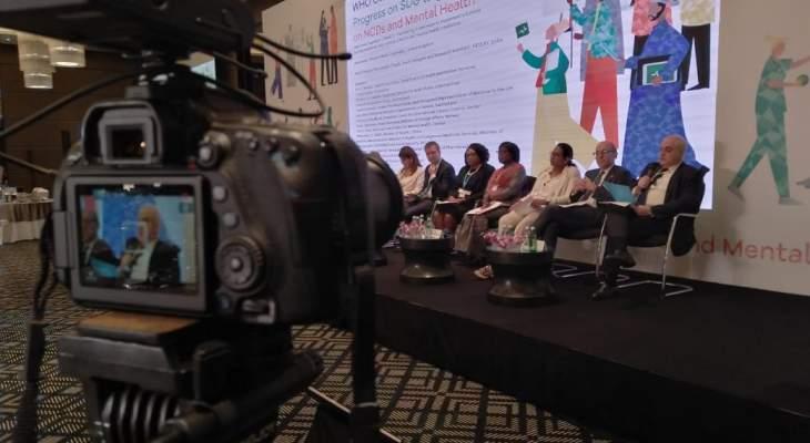 جبق: قطاعنا الصحي حقق تقدمًا في تحقيق أهداف التنمية المتصلة بالأمراض غير السارية