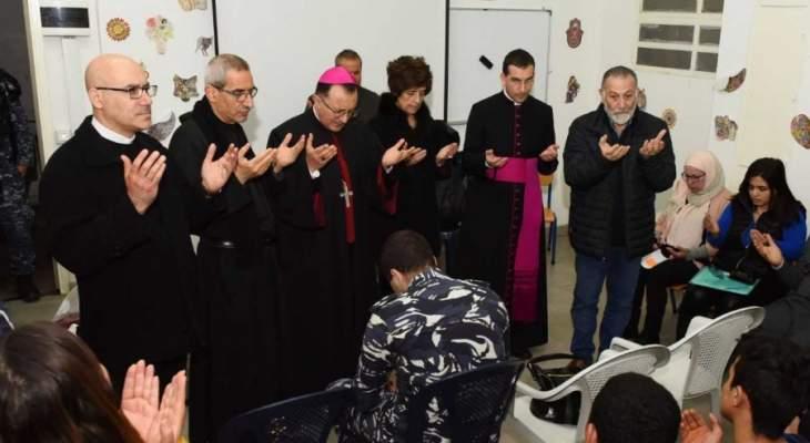 """السفير البابوي زار جناح الاحداث في سجن رومية في إطار برنامج """"إعادة تأهيل الحدث"""""""