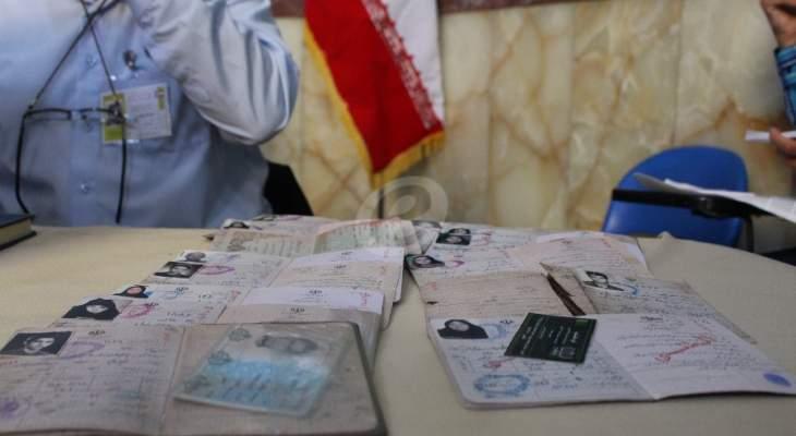 النشرة: فتح صناديق الاقتراع المخصصة للانتخابات الرئاسية الايرانية في النبطية