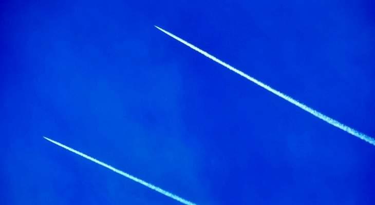 تحليق للطيران الحربي الإسرائيلي في سماء بيروت وصيدا والنبطية وبنت جبيل