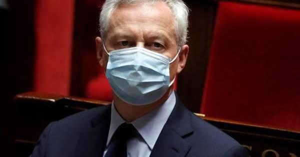 رويترز: وزير المالية الفرنسي يعلن إصابته بفيروس كورونا