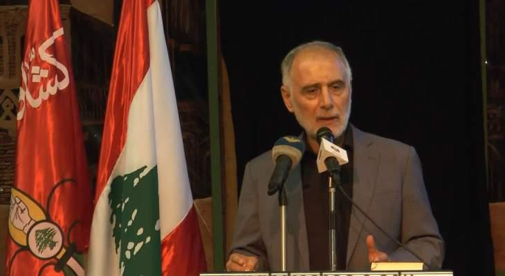 فنيش: فتح الحوار مع سوريا سيسهل التعاون الاقتصادي وينعكس بايجابية على اقتصادنا