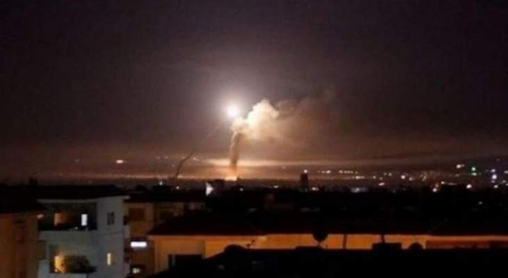 إسقاط الدفاعات الجوية السورية صواريخ معادية في محيط دمشق