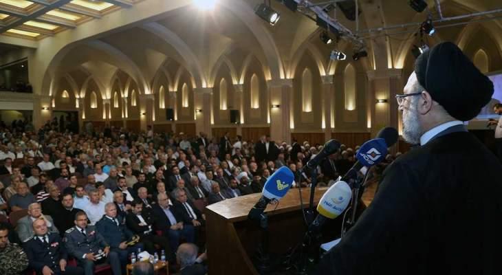 السيد فضل الله: لتعزيز الوحدة الوطنية وفلسطين تختصر كل قضايانا