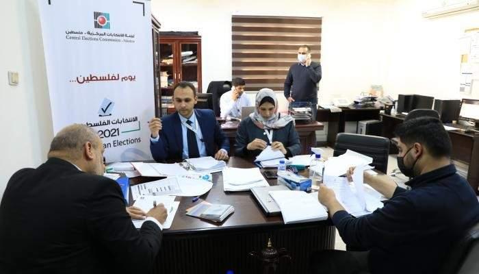 لجنة الانتخابات الفلسطينية: 15 قائمة انتخابية ترشحت بانتخابات المجلس التشريعي