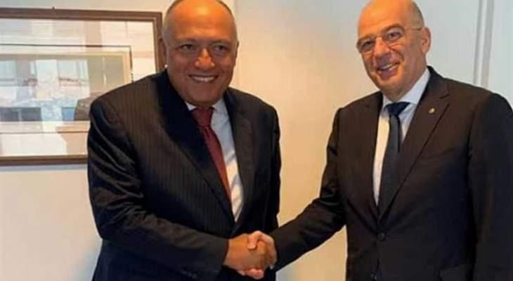 شكري أبلغ اليونان وفنلندا عدم ارتياح مصر لطول أمد مفاوضات السد الإثيوبي