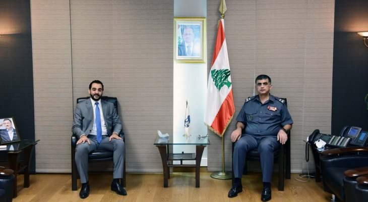 اللواء عثمان التقى أبو حيدر وبحثا في سبل تعزيز التعاون