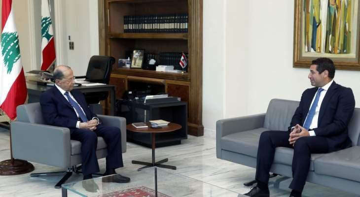 """الرئيس عون أبرق الى رئيس الاتحاد الاوروبي مهنئاً بـ""""يوم اوروبا"""""""