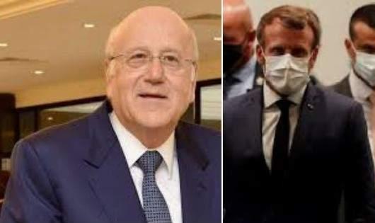 الإليزيه: الرئيس الفرنسي يستضيف رئيس وزراء لبنان يوم الجمعة