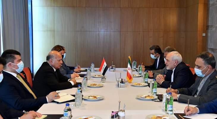 حسين لظريف: حريصون على تعزيز التعاون وتفعيل مذكرات التفاهم الثنائية