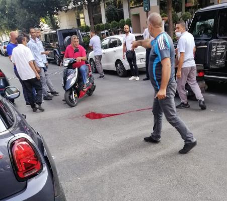 إصابة شخص نتيجة إشكال تخلله إطلاق نار أمام أحد المقاهي في وسط بيروت