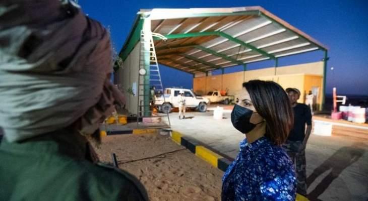 وزيرة خارجية ليبيا جددت مطالبتها بضرورة خروج القوات الأجنبية والمرتزقة من بلادها