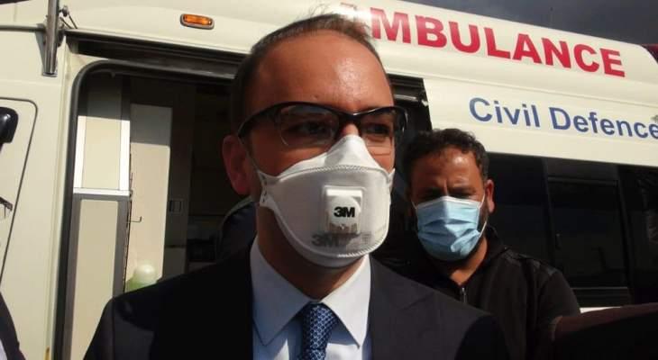 خضر يطلق حملة جديدة للتسجيل على المنصة لتلقي اللقاح في بعلبك الهرمل
