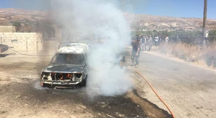 """""""النّشرة"""": حريق بسيارة في الفرزل والأضرار تقتصر على الماديات"""