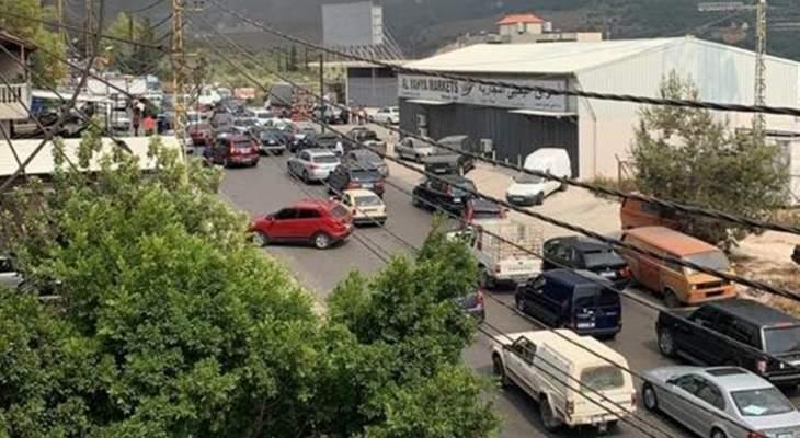 الجيش والقوى الامنية اعادوا فتح طريق الضنية طرابلس