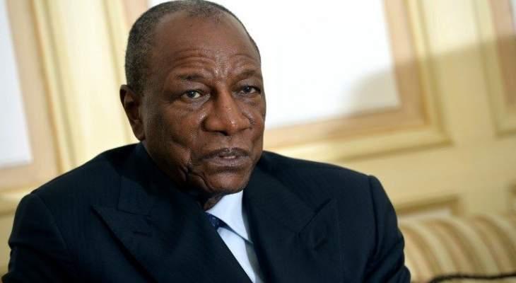 رئيس غينيا: السعودية قادرة على مواجهة الإرهاب وإلحاق أي ضرر بها هو اعتداء على الإسلام