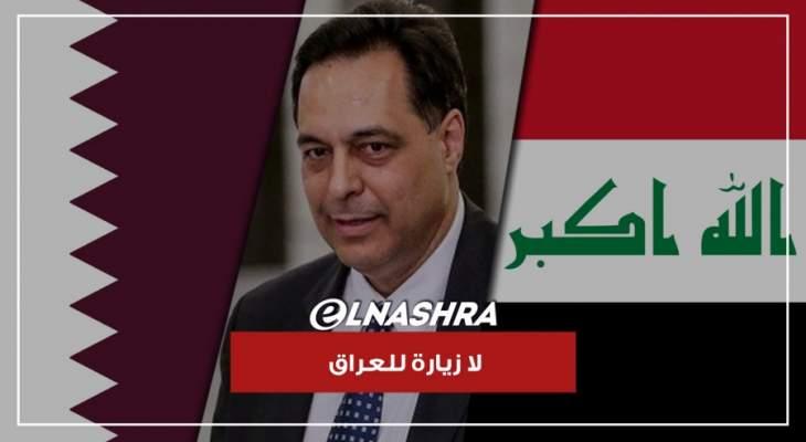 لا مبادرة قطرية انما مساعدات لمنع الانهيار.. وضغط سياسي الغى زيارة دياب الى العراق
