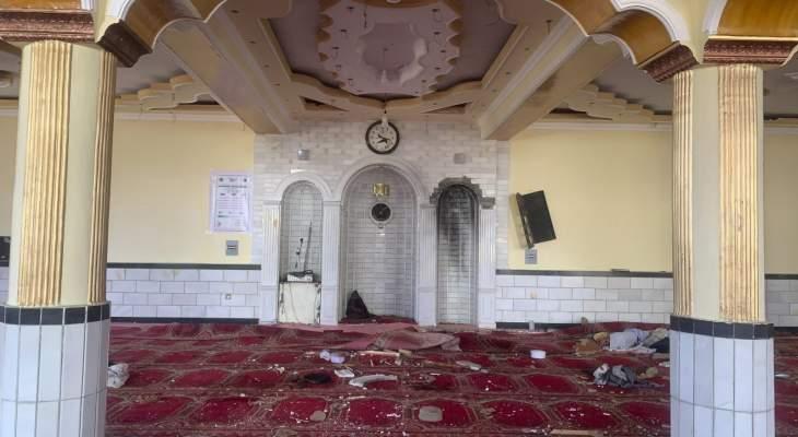 """""""داعش"""" أعلن مسؤوليته عن تفجير داخل مسجد في العاصمة الأفغانية كابول"""