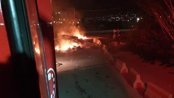 الدفاع المدني: إخماد حريق شب في نفايات في ذوق مصبح