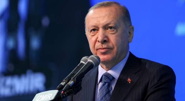 اردوغان: تركيا باتت في موضع تحديد التوازنات الإقليمية والدولية