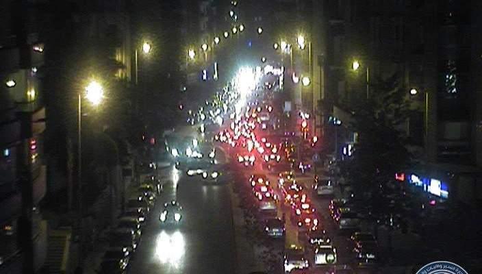 حركة مرور كثيفة على اوتوستراد خلدة باتجاه بيروت