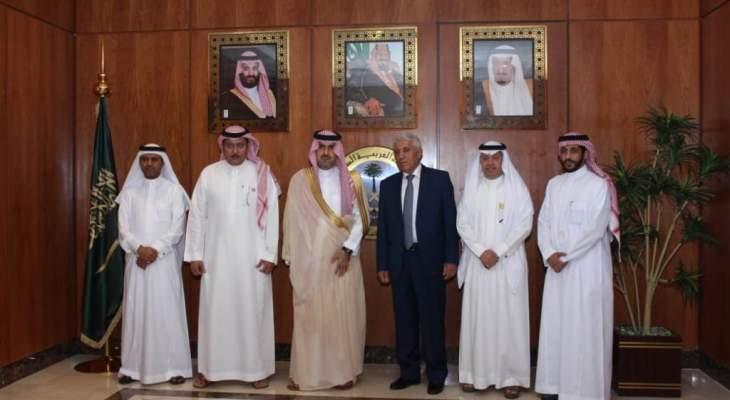 رئيس ديوان المحاسبة بحث مع نظيره السعودي التعاون المشترك بين الاجهزة الرقابية