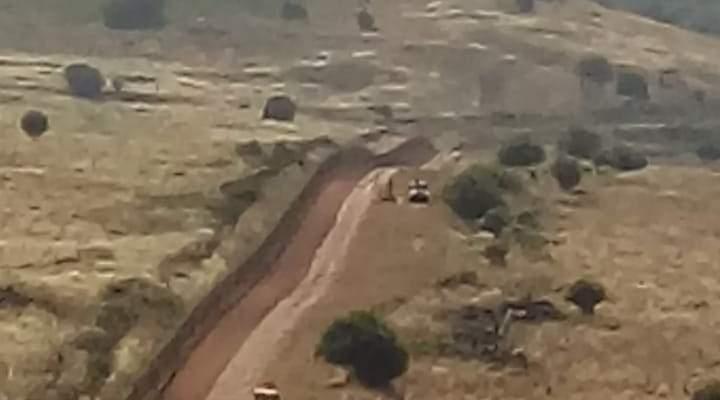 النشرة: قوة اسرائيلية تمشّط الطريق العسكري المحاذي للسياج الحدودي في الغجر